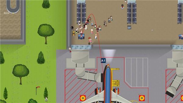模拟机场游戏