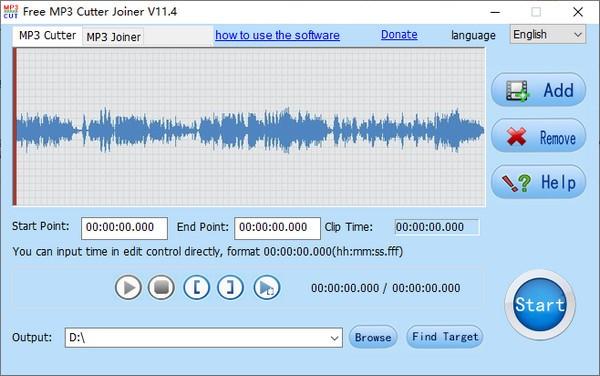 Free MP3 Cutter Joiner(音频处理工具)