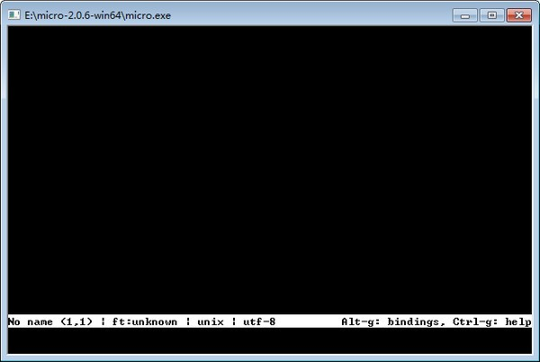 Micro editor(终端文本编辑器)