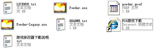 下载解压后的文件