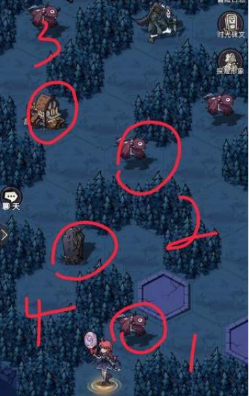 《魔镜物语》迷宫森林紫金宝箱获取方法
