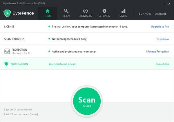 bytefence anti malware(杀毒软件)