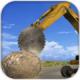 重型挖掘机宝石切割